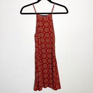 Brandy Melville printed high neck cami tank top